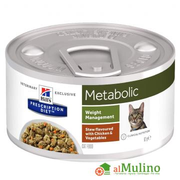 HILL'S - HILL'S METABOLIC GATTO GR.82 ++++