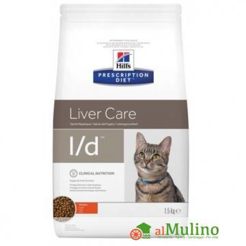 HILL'S - HILL'S LIVER CARE L/D POLLO KG1,5 CAT ++++