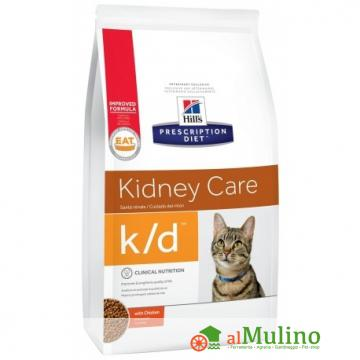 HILL'S - HILL'S KIDNEY CARE K/D POLLO KG1,5 CAT ++++