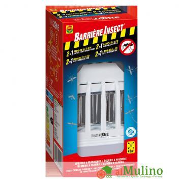 - COMPO LAMP.LED ANTIZANZARE 2IN1 45 M2