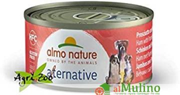- ALMO NATURE ALTERNATIVE CANE POLLO GRIGLIATO GR.70 ++++