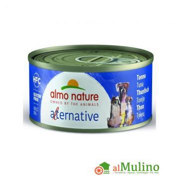 - ALMO NATURE ALTERNATIVE CANE TONNO GR.70 ++++