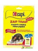 ZAPI INDUSTRIE CHIMICHE SPA - ZAPI TRAP TRAPPOLA TOPI/INSETTI ASTUCCIO 3 PZ