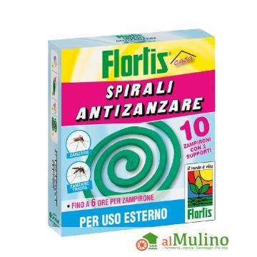 - FLORTIS SPIRALI ANTIZANZARE PZ. 10