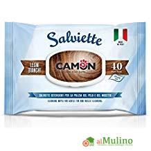 - CAMON SALVIETTE DETERGENTI PROFUMAZIONE LEGNI BIANCHi 40 PEZZI ++++