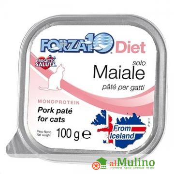 SANYPET SPA - FORZA 10 SOLO DIET MAIALE G 100 ++++