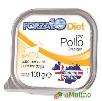 SANYPET SPA - FORZA 10 SOLO DIET POLLO G 100 ++++