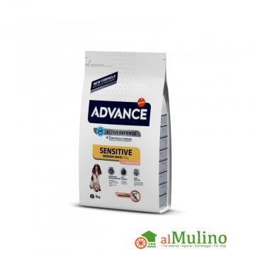 TRAINER - ADVANCE SENSITIVE M\M SALMONE E RISO CANE KG.3